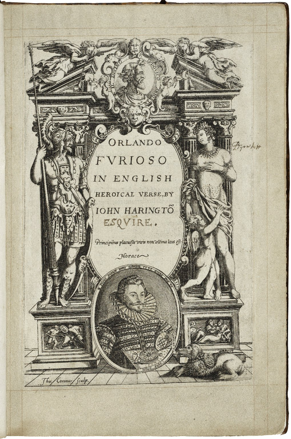 [Orlando furioso. English] Orlando furioso in English heroical verse, by Iohn Haringto[n]