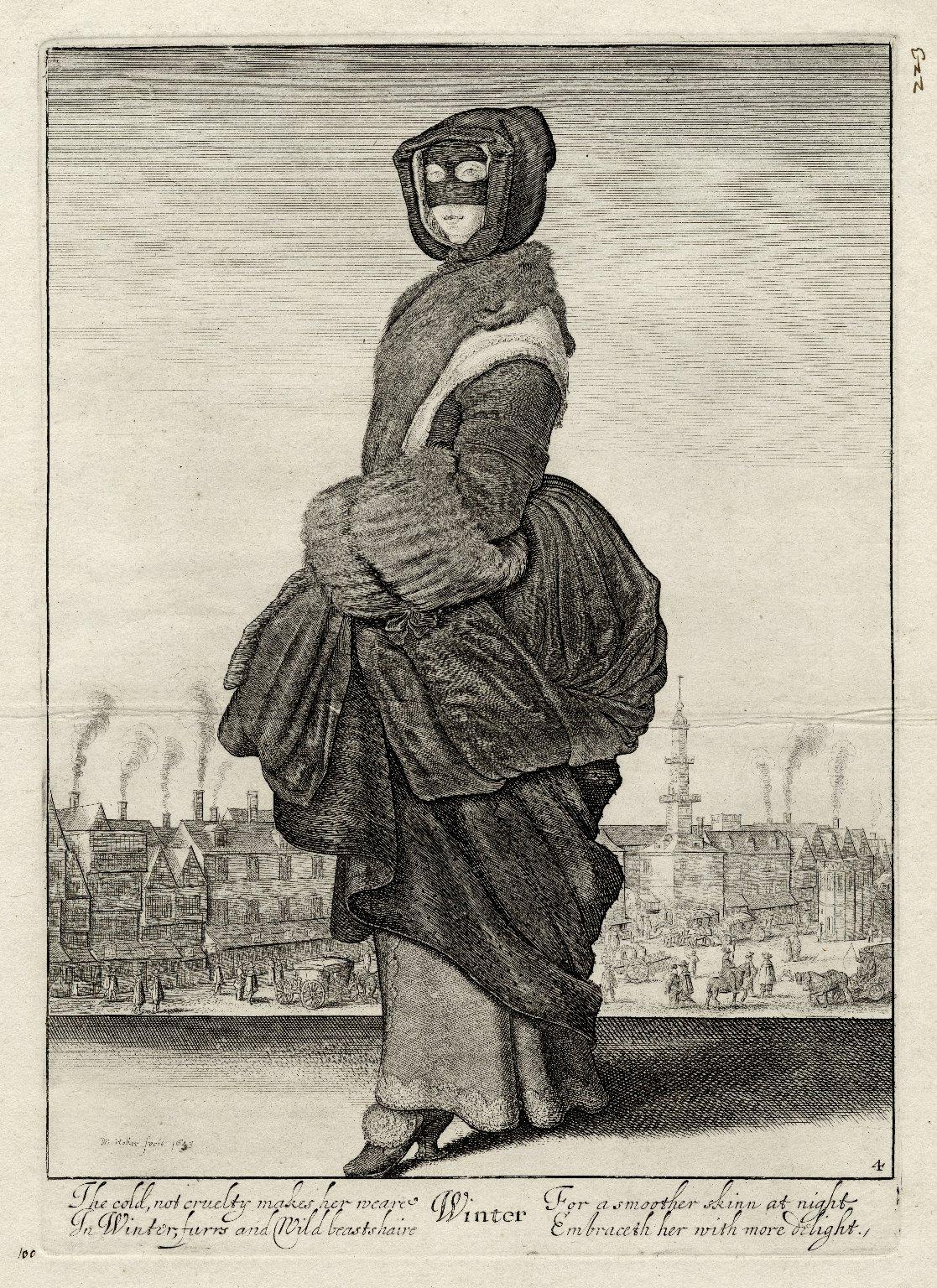 Winter [graphic] / W. Hollar fecit, 1643.