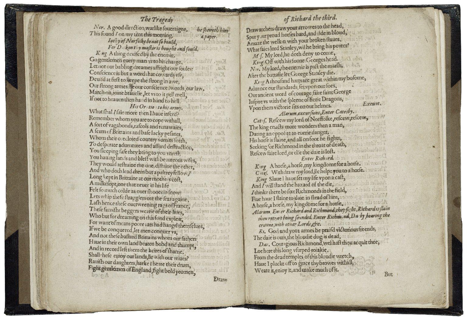 [King Richard III] The tragedy of King Richard the third.