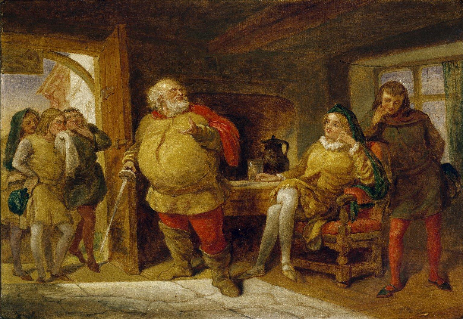 Falstaff at the Boar's Head Tavern