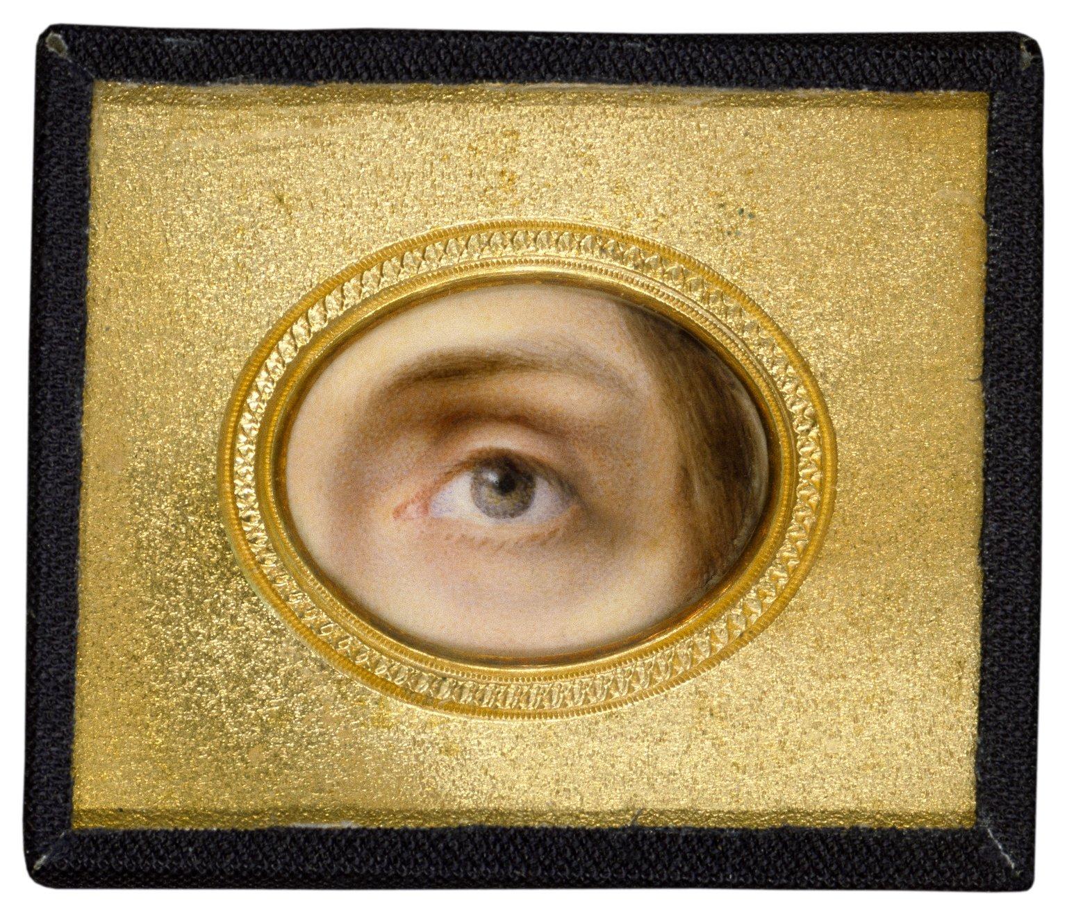Charlotte Cushman's eye