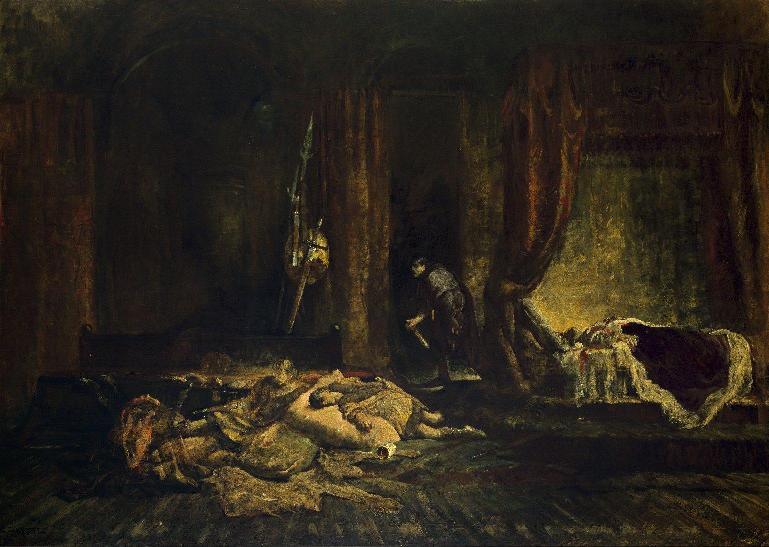 Macbeth's murder of Duncan