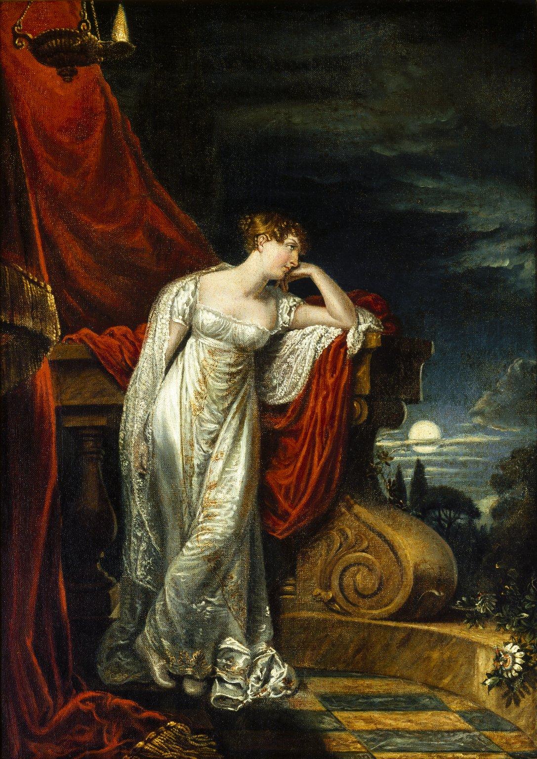 Study for Miss O'Neill as Juliet