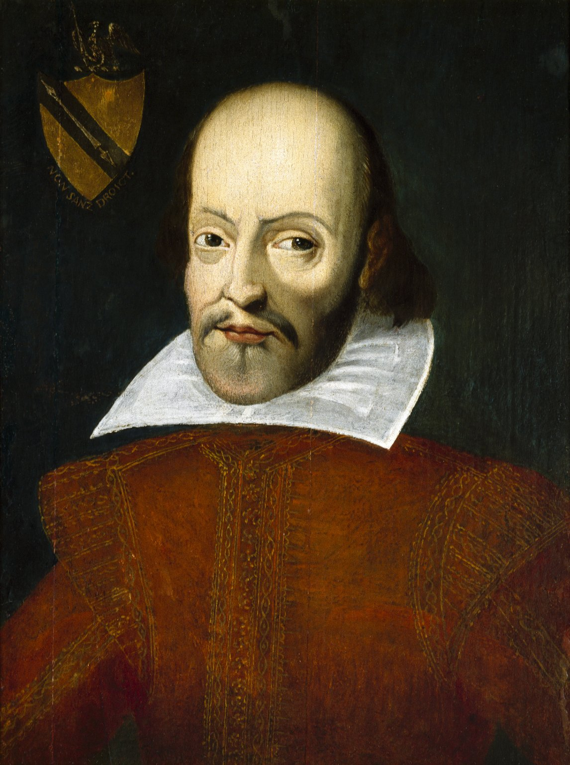 Buttery Portrait of Shakespeare