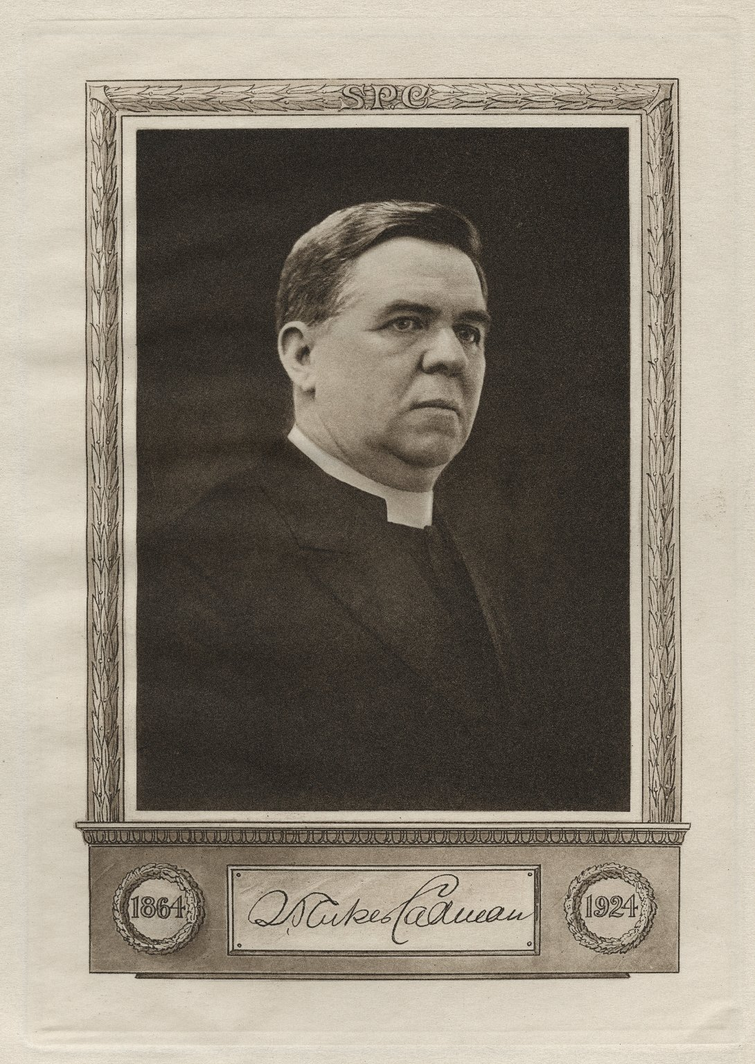 [Program of the] Testimonial dinner tendered Rev. S. Parkes Cadman, D.D. : in honor of the sixtieth anniversary of his birth ...