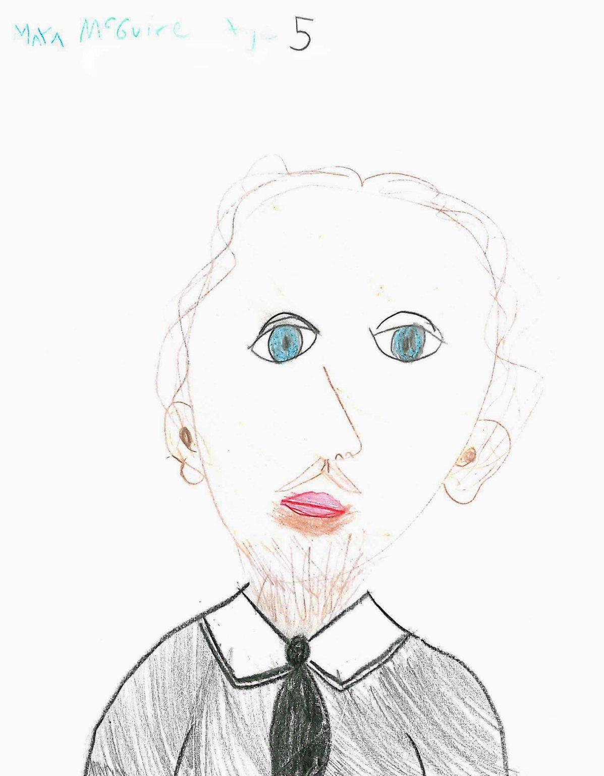 2008 Portrait Contest Winner Maya McGuire