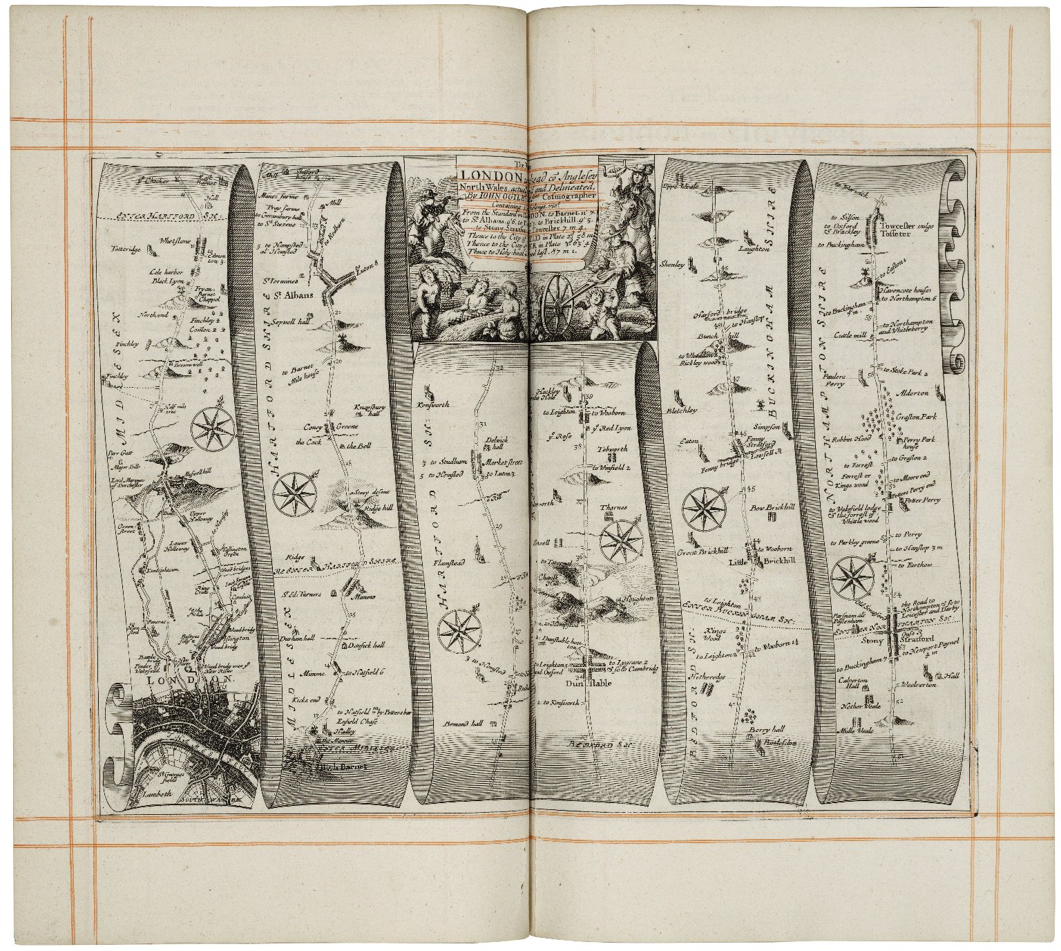 Britannia, volume the first: or, An illustration of the kingdom of England and dominion of Wales...