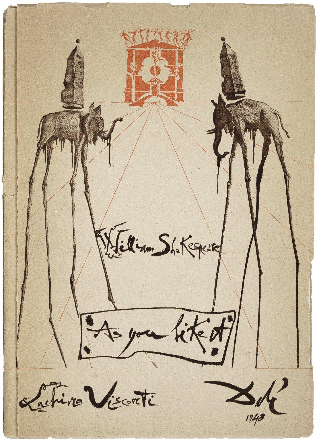 William Shakespeare : Come vi piace (As you like it) nell' edizione della Compagnia italiana di prosa, diretta da Luchino Visconti...