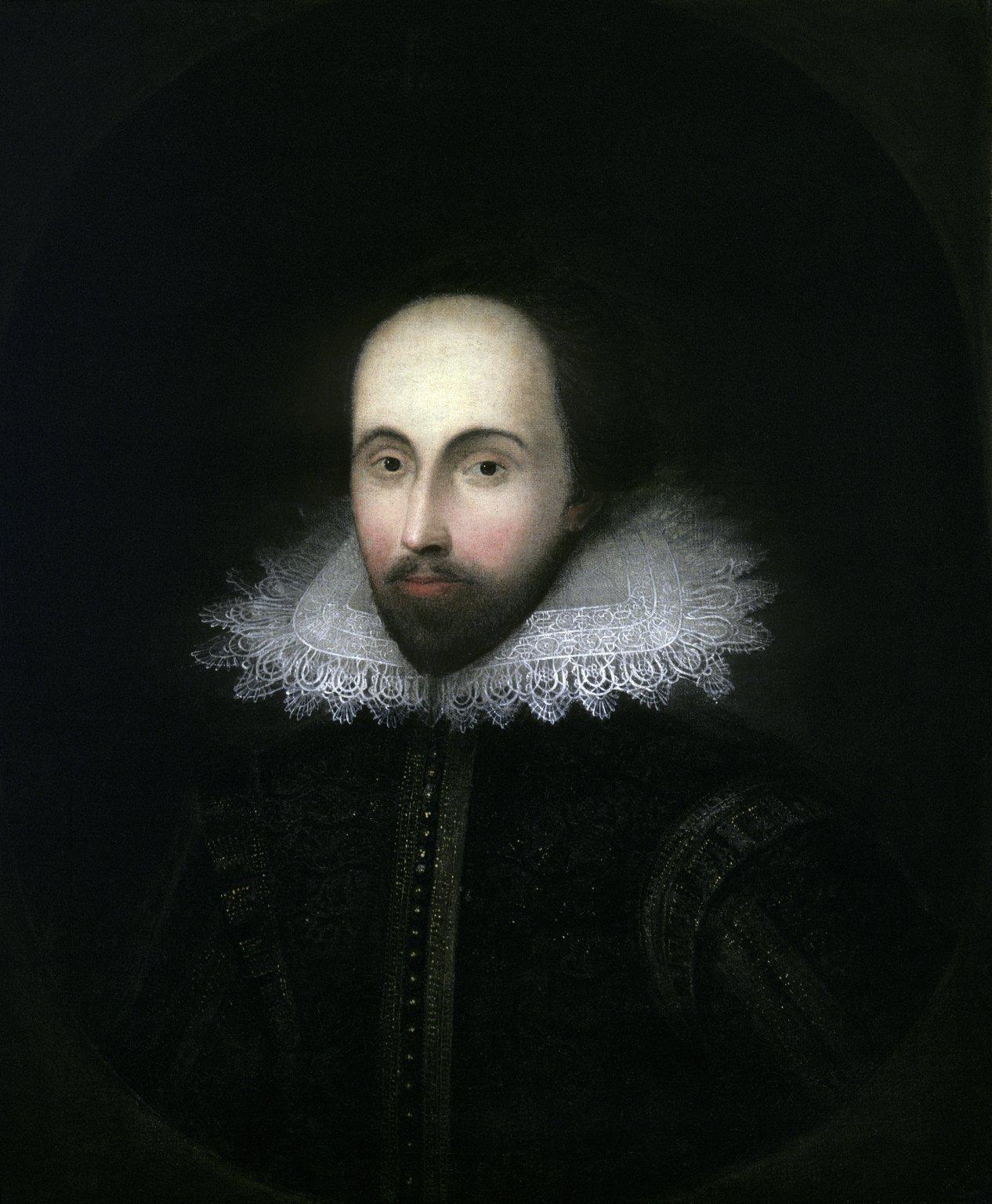 The Staunton Portrait of Shakespeare