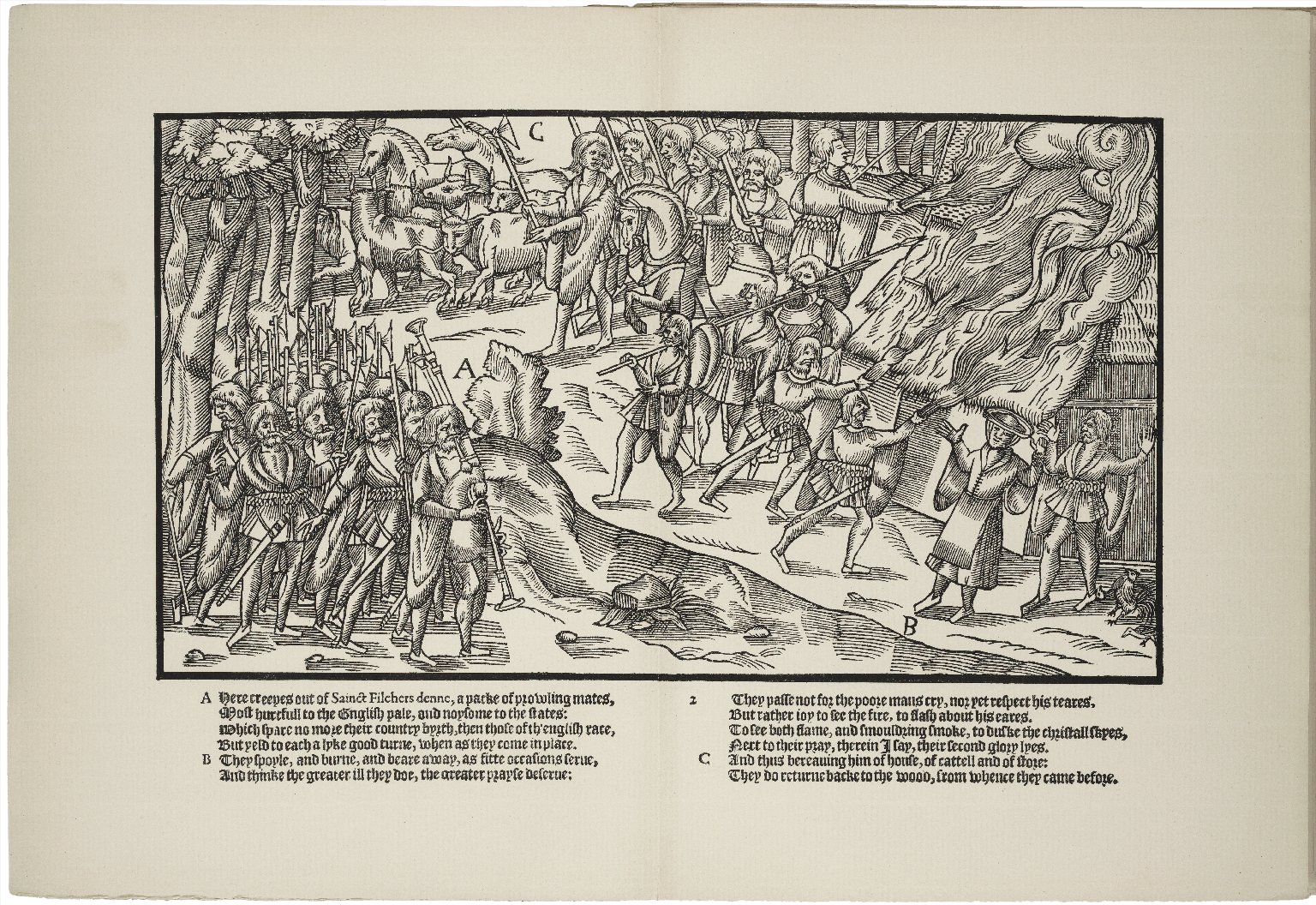 The image of Irelande : with a discouerie of woodkarne / by John Derricke, 1581 ; with the notes of Sir Walter Scott, bart. ; edited, with introduction by John Small.