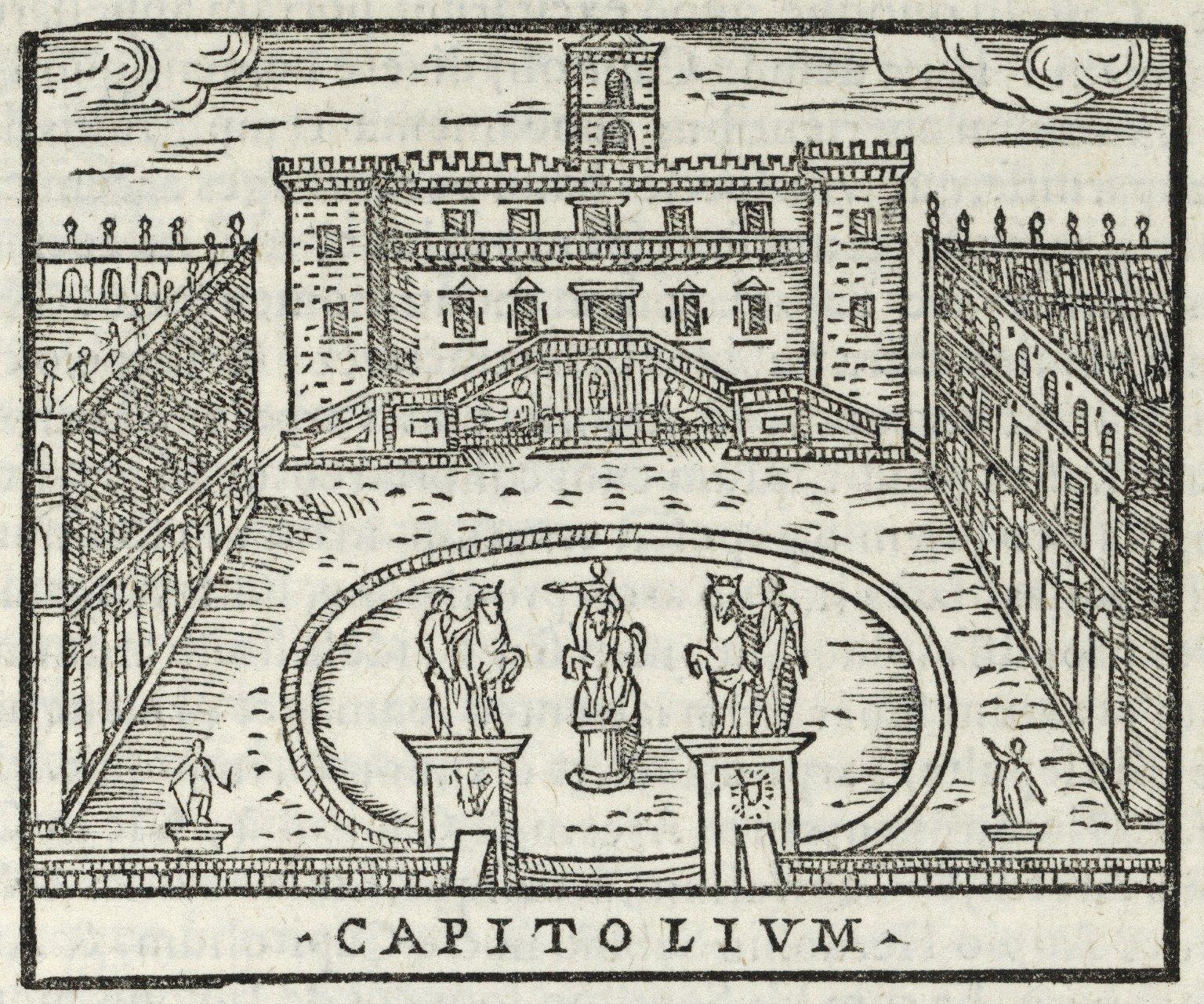 ...Urbis Romae topographia accurate..,.
