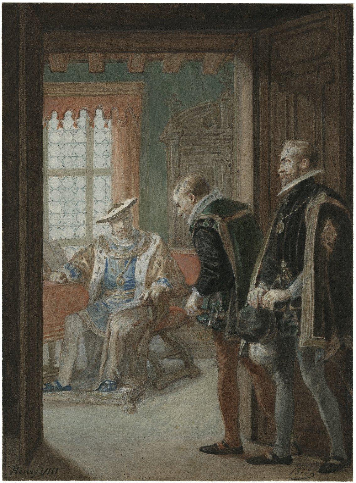 Henry VIII [graphic] / Bida.