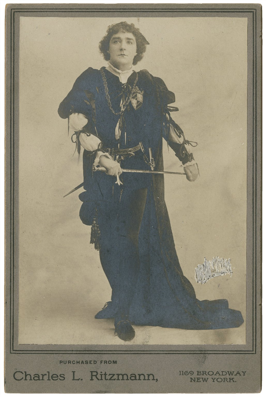 K. Bellew as Romeo [in Shakespeare's Romeo and Juliet] [graphic] / purchased from Charles L. Ritzmann.