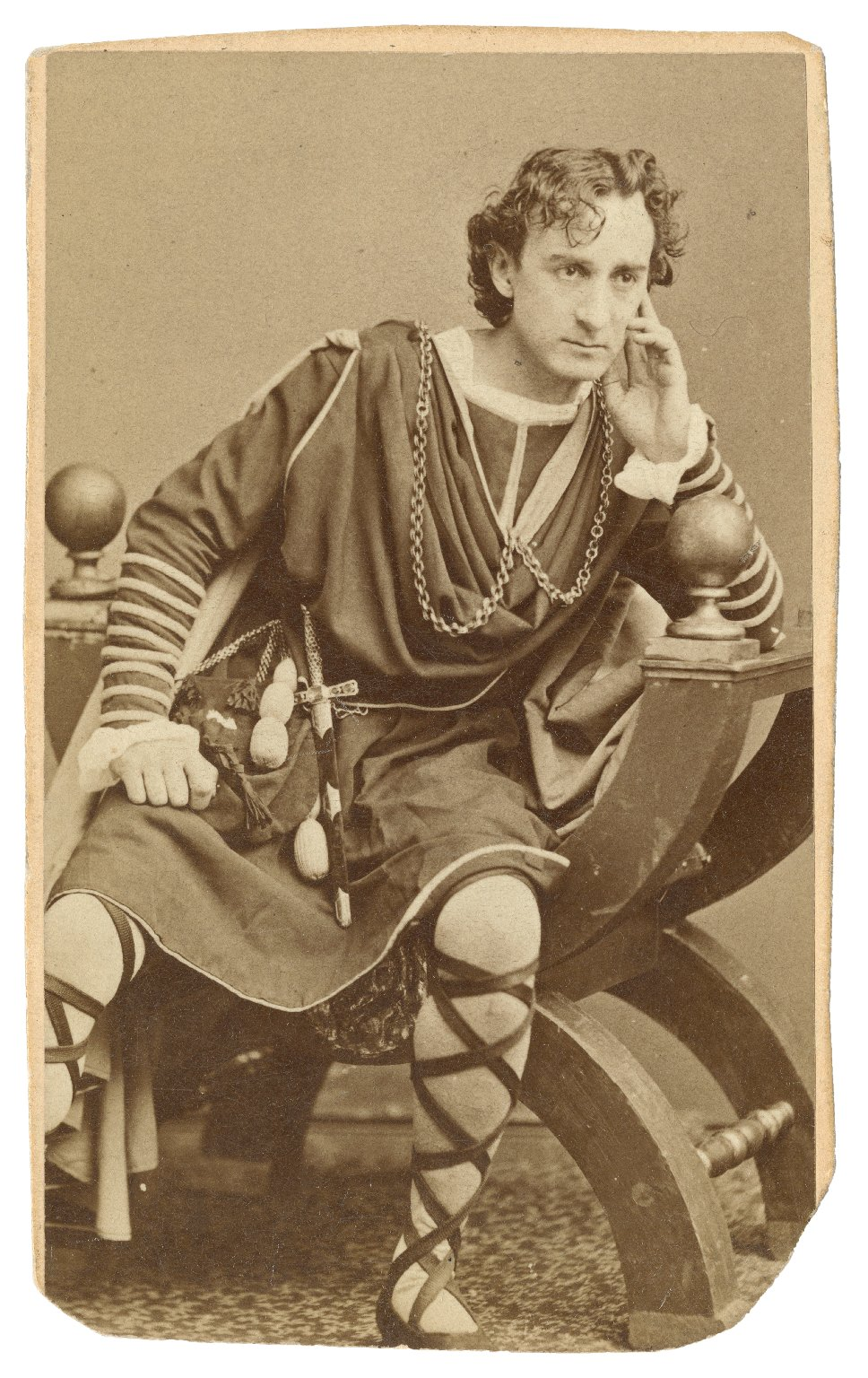 Edwin Booth [in Shakespeare's Hamlet] [graphic] / [Jeremiah] Gurney.