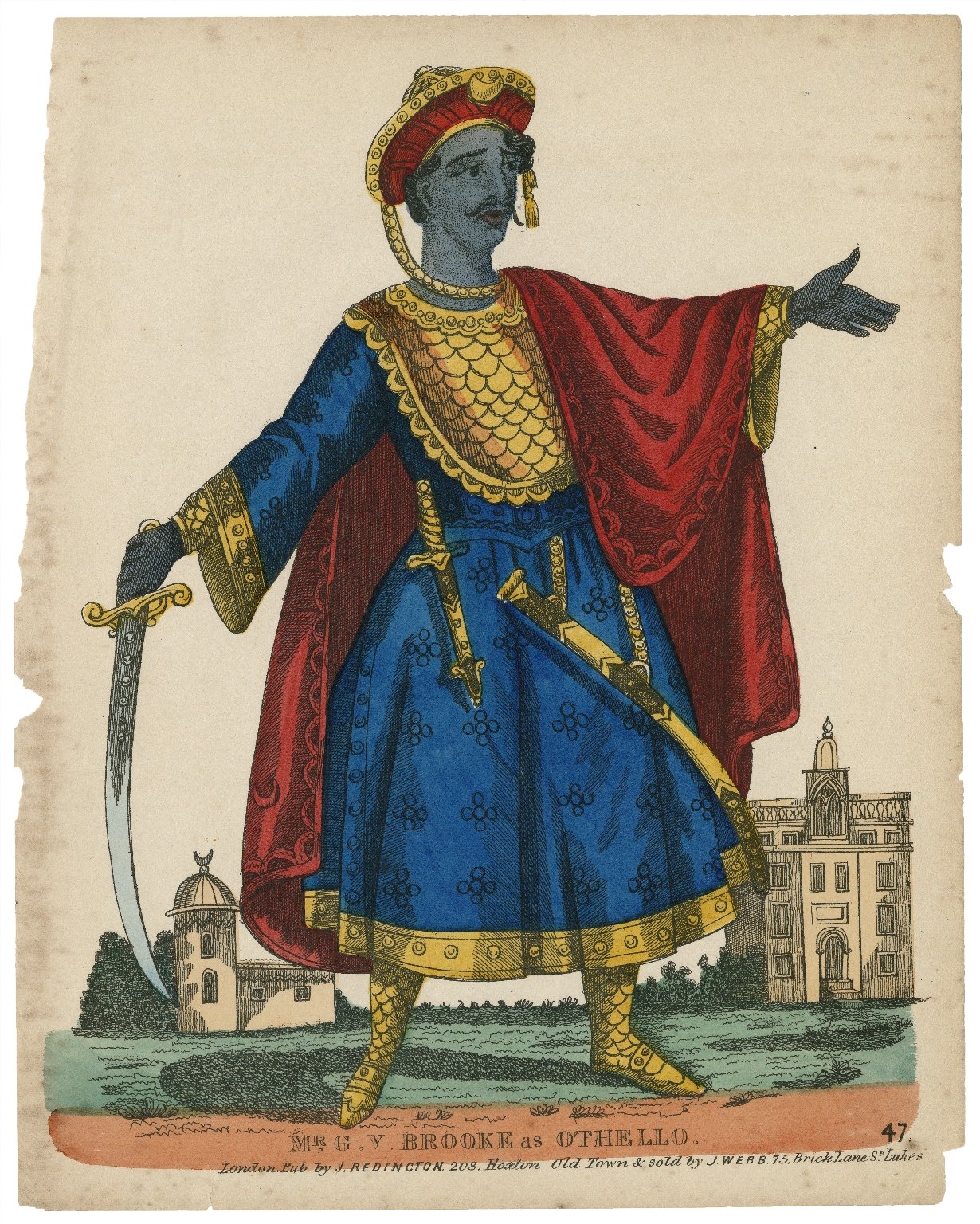 Mr. G.V. Brooke as Othello [graphic].