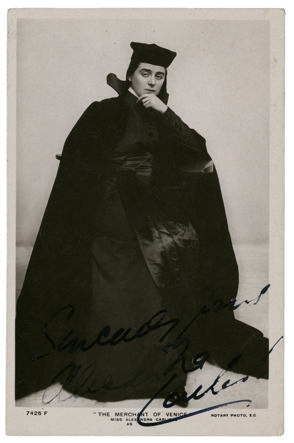 The merchant of Venice, Miss Alexandra Carlisle [as Portia] [graphic].