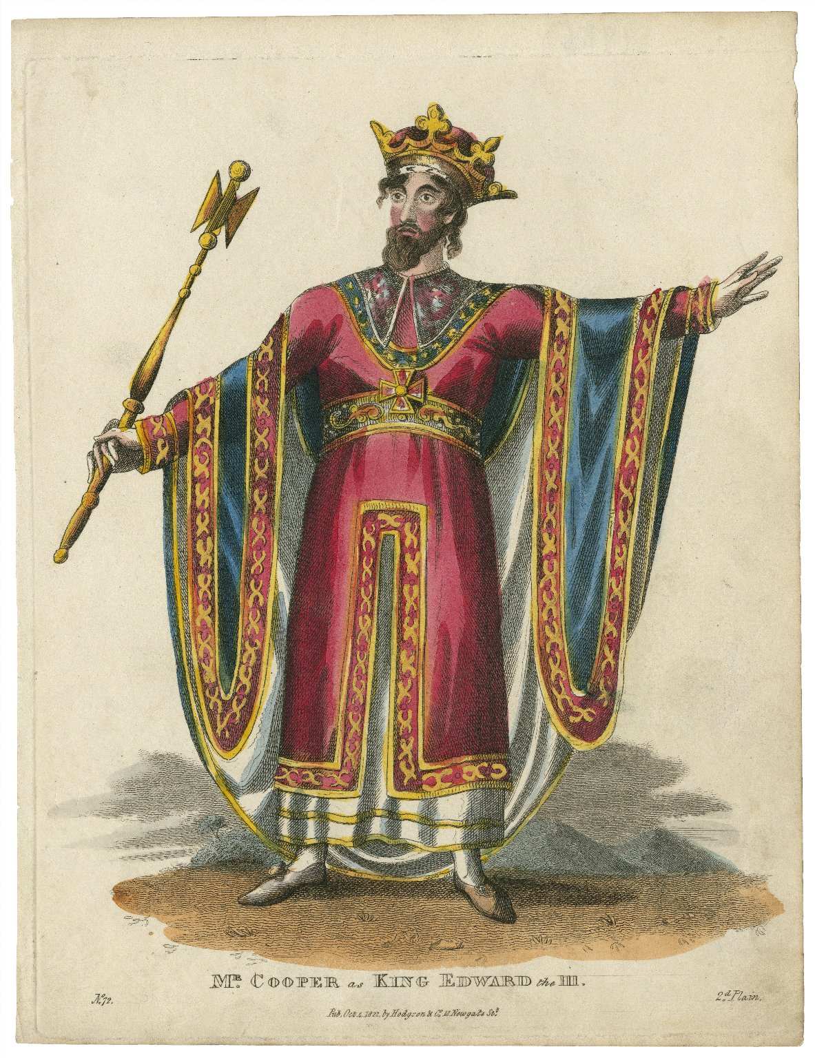 Mr. Cooper as King Edward the III [graphic].
