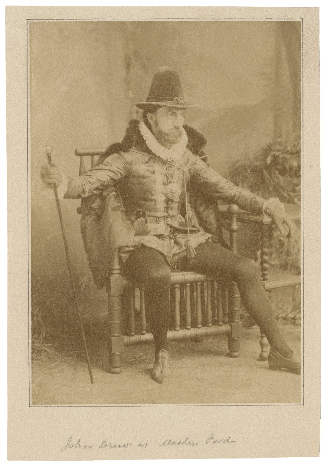 John Drew as Master Ford [in Shakespeare's Merry wives of Windsor] [graphic].