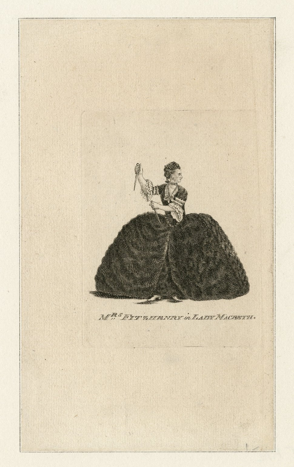 Mrs. Fitzhenry in Lady Macbeth [in Shakespeare's Macbeth] [graphic].