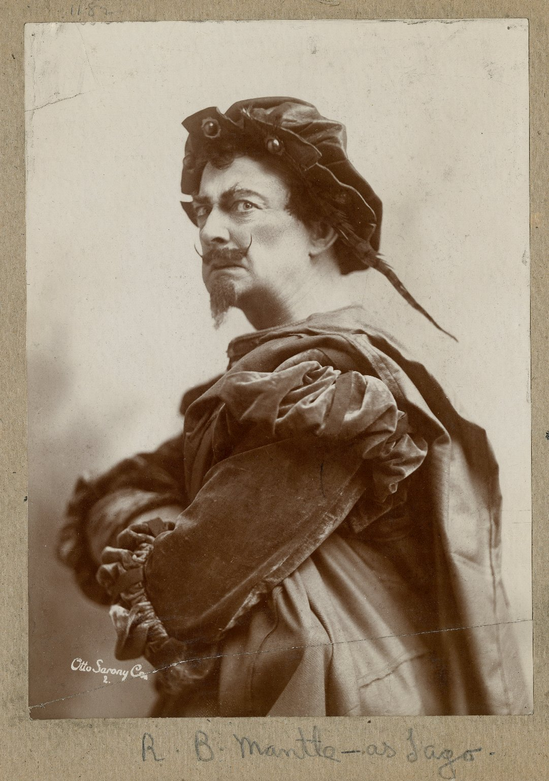 R.B. Mantell as Iago [in Shakespeare's Othello] [graphic] / Sarony.