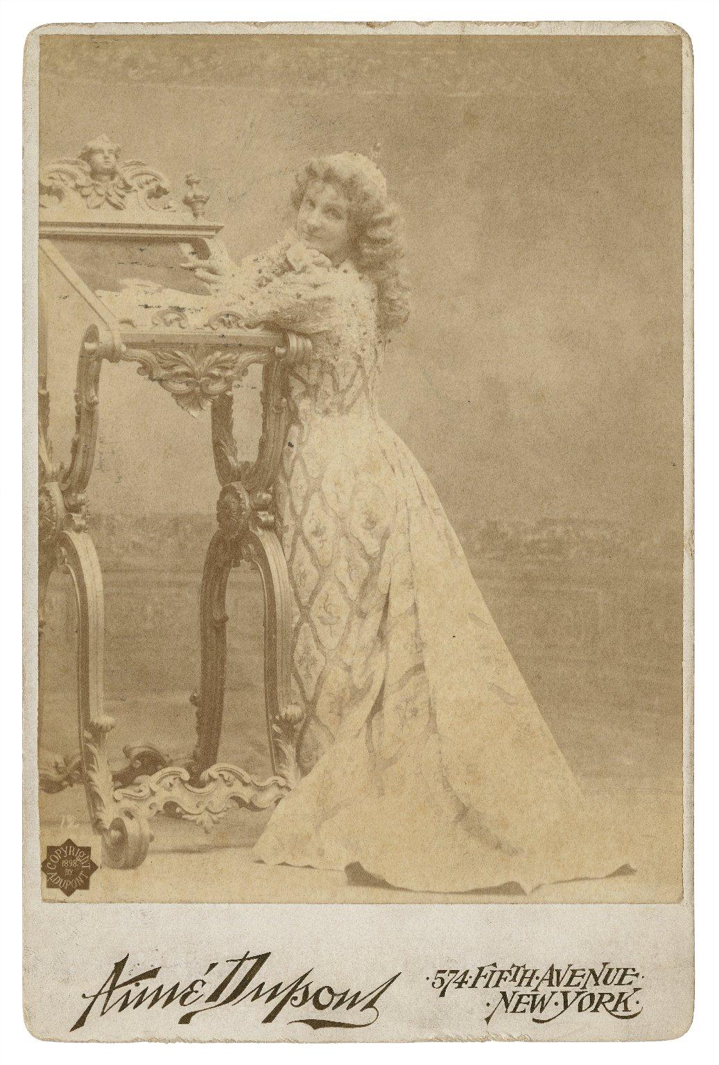 [Ada Rehan as Portia, in Shakespeare's The merchant of Venice] [graphic] / Aimé Dupont.