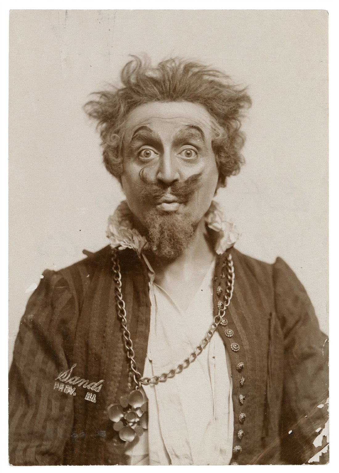 E.H. Sothern as Malvolio [in Shakespeare's Twelfth Night] [graphic] / Sands, Prov. R.I.