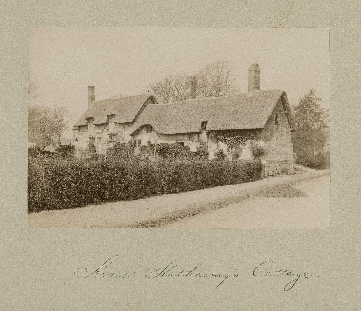 Anne Hathaway's cottage, exterior views [graphic].