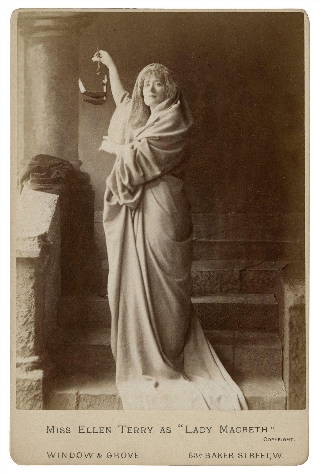 "Miss Ellen Terry as ""Lady Macbeth"" [graphic] / Window & Grove."