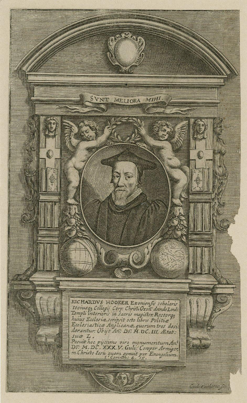 Richardus Hooker exoniensis scholaris ... [graphic] / Guil. Faithorne, sculp.