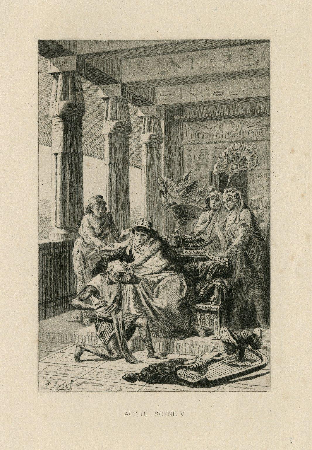 [Antony and Cleopatra] act II, scene v [graphic] / P. Avril.