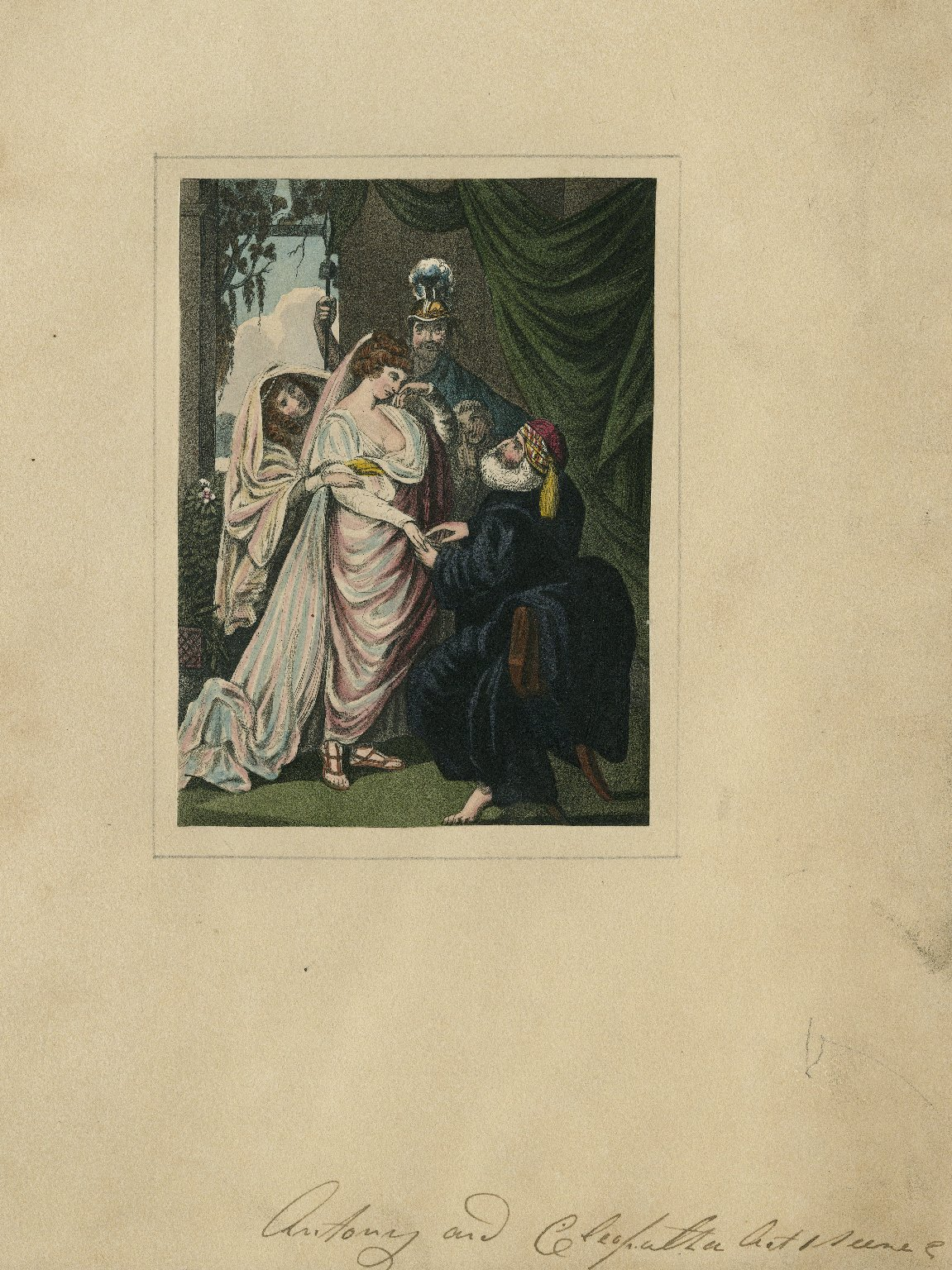 [Anthony and Cleopatra, act 1, scene 2] [graphic] / [Matthew William Peters]