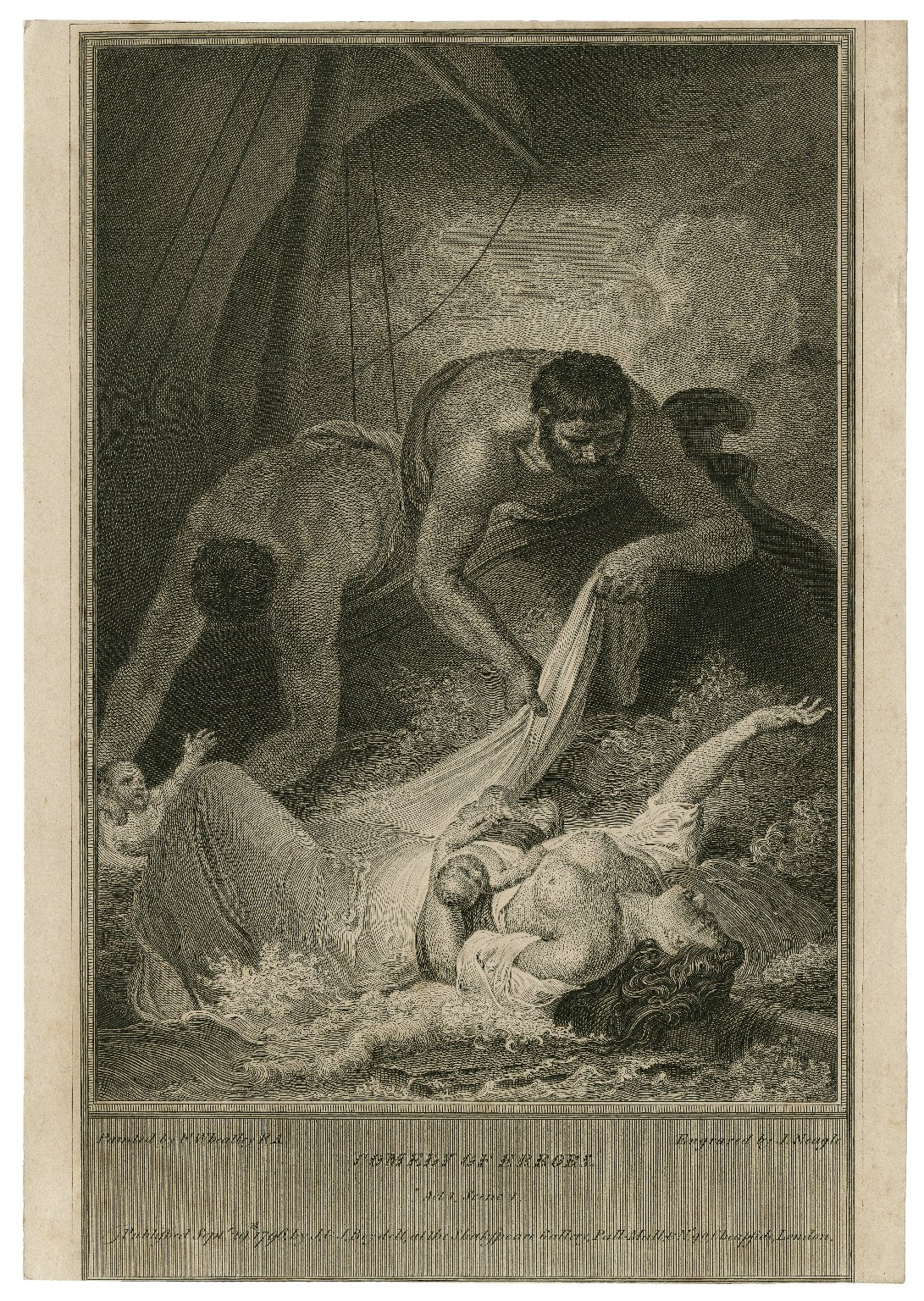 Comedy of errors, act 1, scene 1 [graphic] / painted by F. Wheatley ; engraved by J. Neagle.