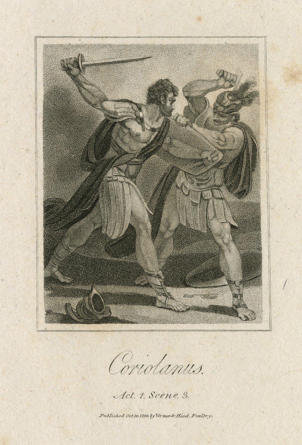 Coriolanus act 1 scene 3 [i.e.8] [graphic].