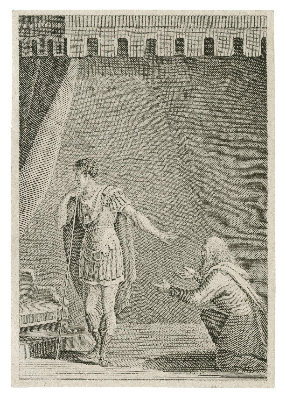 [Coriolanus, possibly act V, scene 3, illustrating lines 8-15] [graphic].