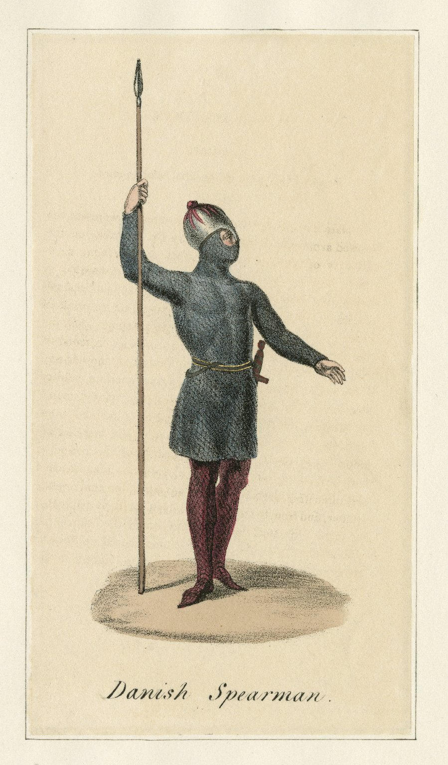 [Hamlet, 13 colored lithographs of costumes for characters in the play] [graphic].