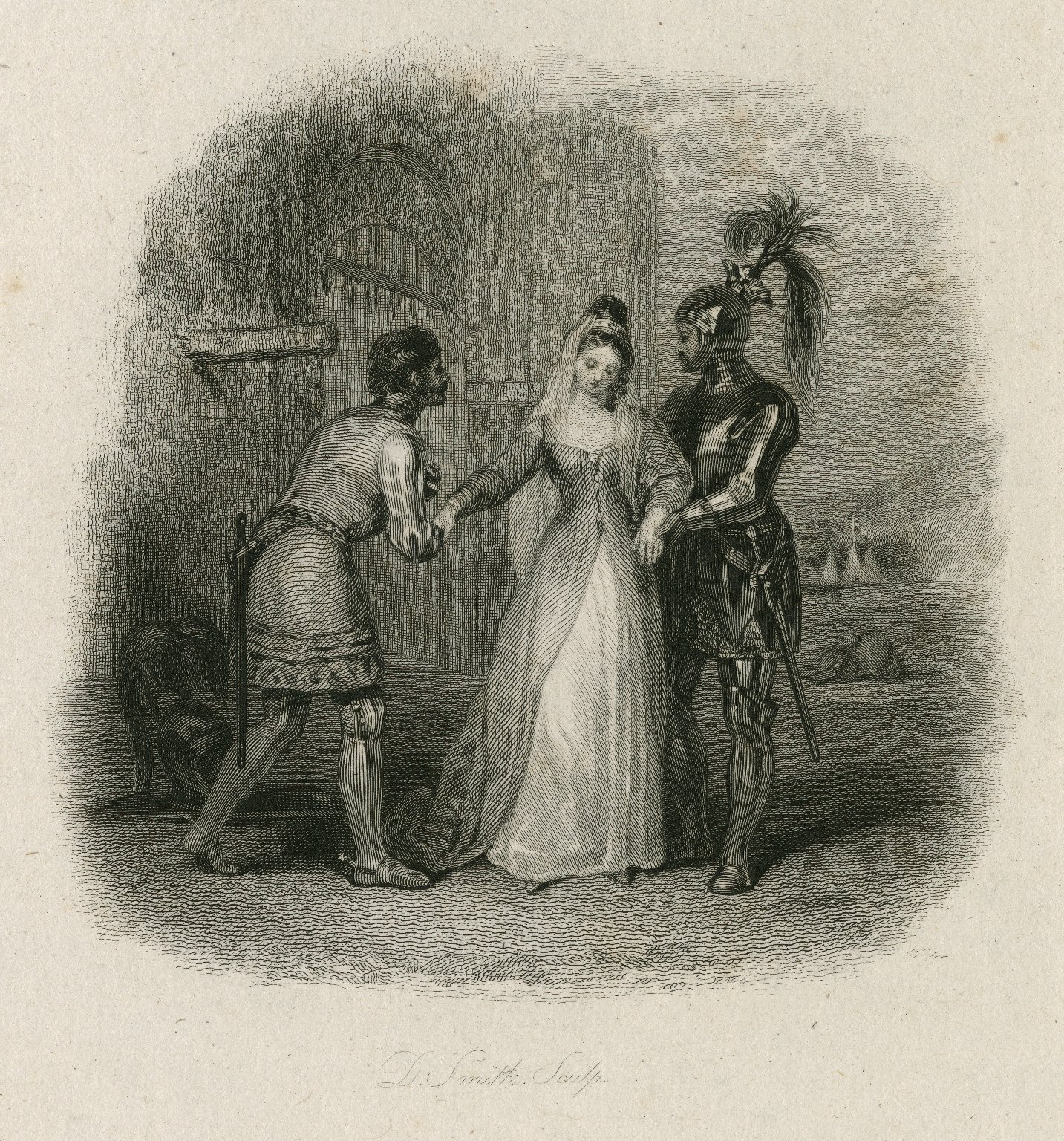 King Henry the Sixth, pt. 1, act 5, sc. 3 [graphic] / painted by F.P. Stephanoff ; engraved by D. Smith.