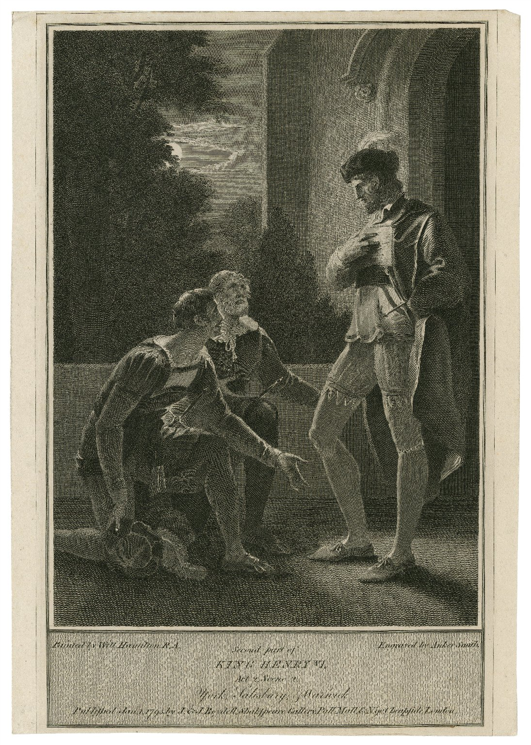 Second part of King Henry VI, act 2, scene 2 [graphic] / painted by Will. Hamilton R.A. ; engraved by Anker Smith.