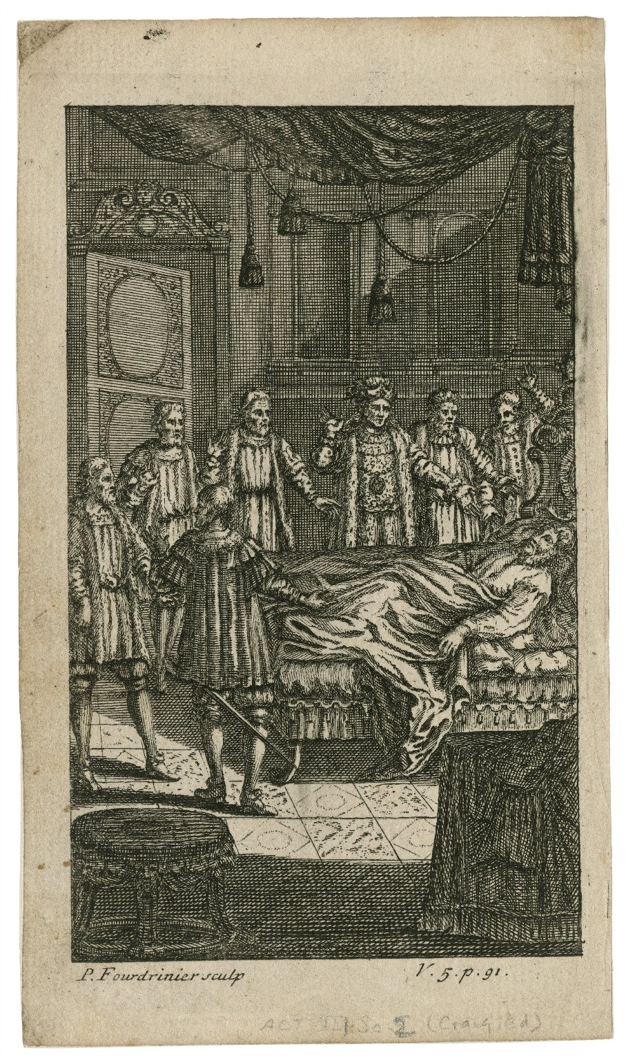 [King Henry VI, part 2, act III, sc. 2] [graphic] / P. Fourdrinier, sculp.