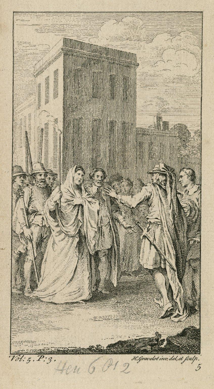 [King Henry VI, pt. 2, act II, scene 4] [graphic] / H. Gravelot inv, del, et sculp.