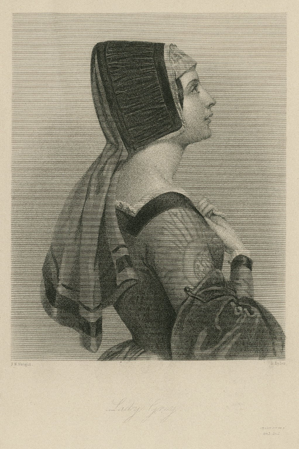 Lady Grey, [character in Shakespeare's] Henry 6th, pt. 3 [graphic] / J.W. Wright ; B. Eyles.