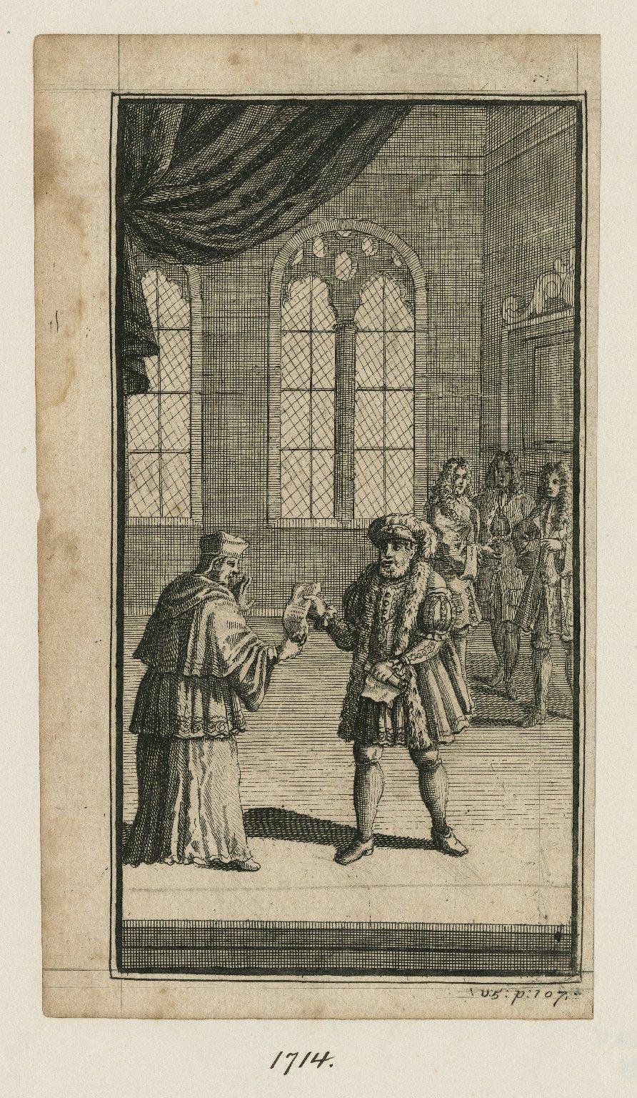 [King Henry VIII, act III, scene 2 ... ] [graphic].