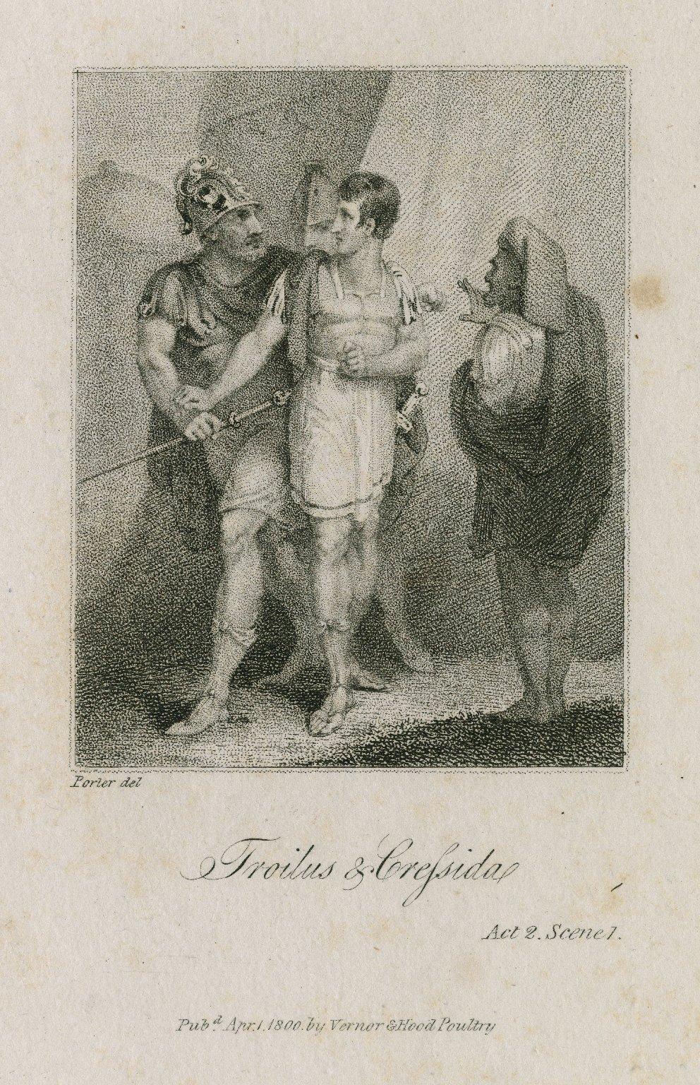 Troilus & Cressida, act 2, sc. 1 [graphic] / Porter del.