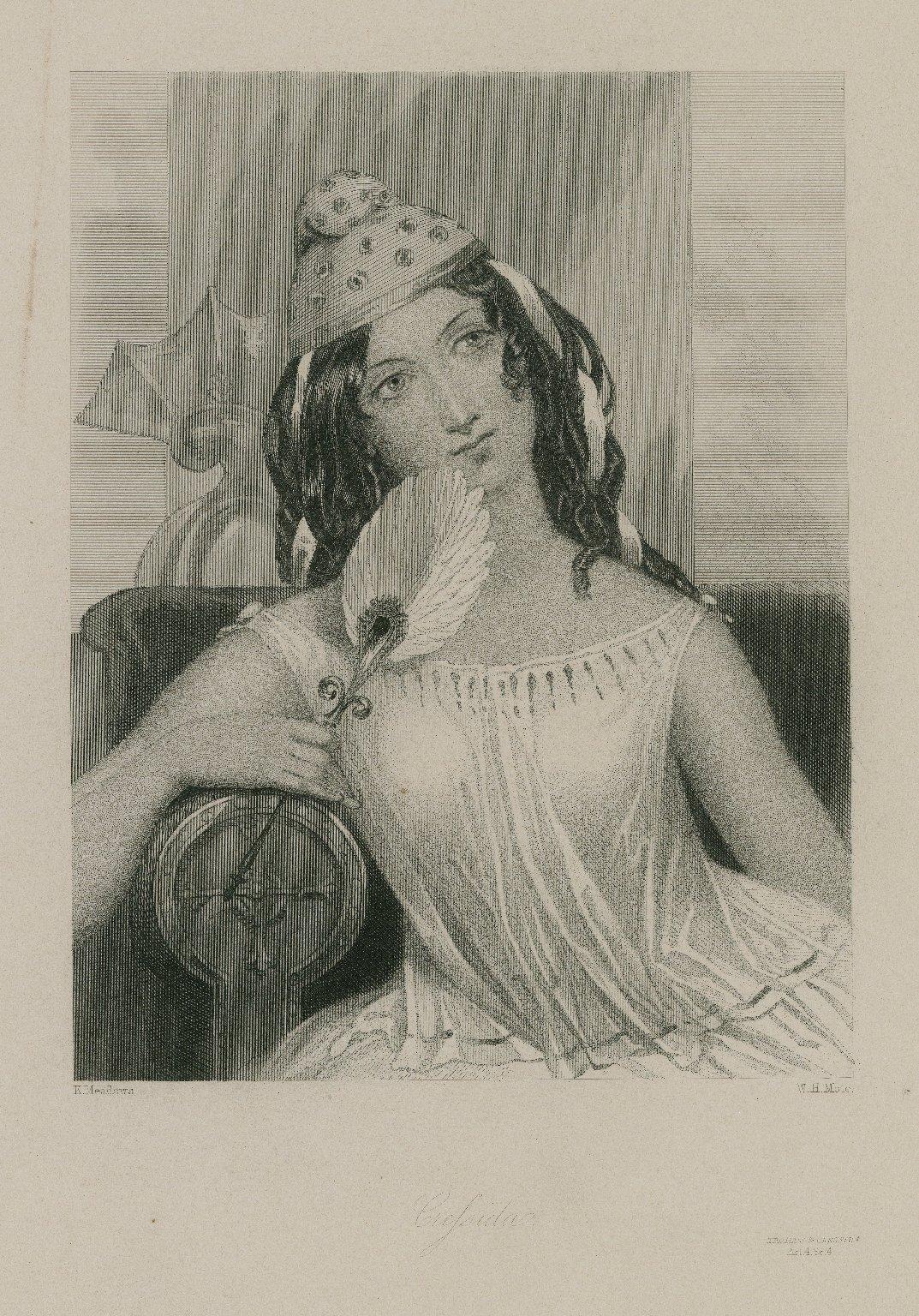 Cressida, Troilus & Cressida, act 4, sc. 4 [graphic] / K. Meadows ; W.H. Mote.