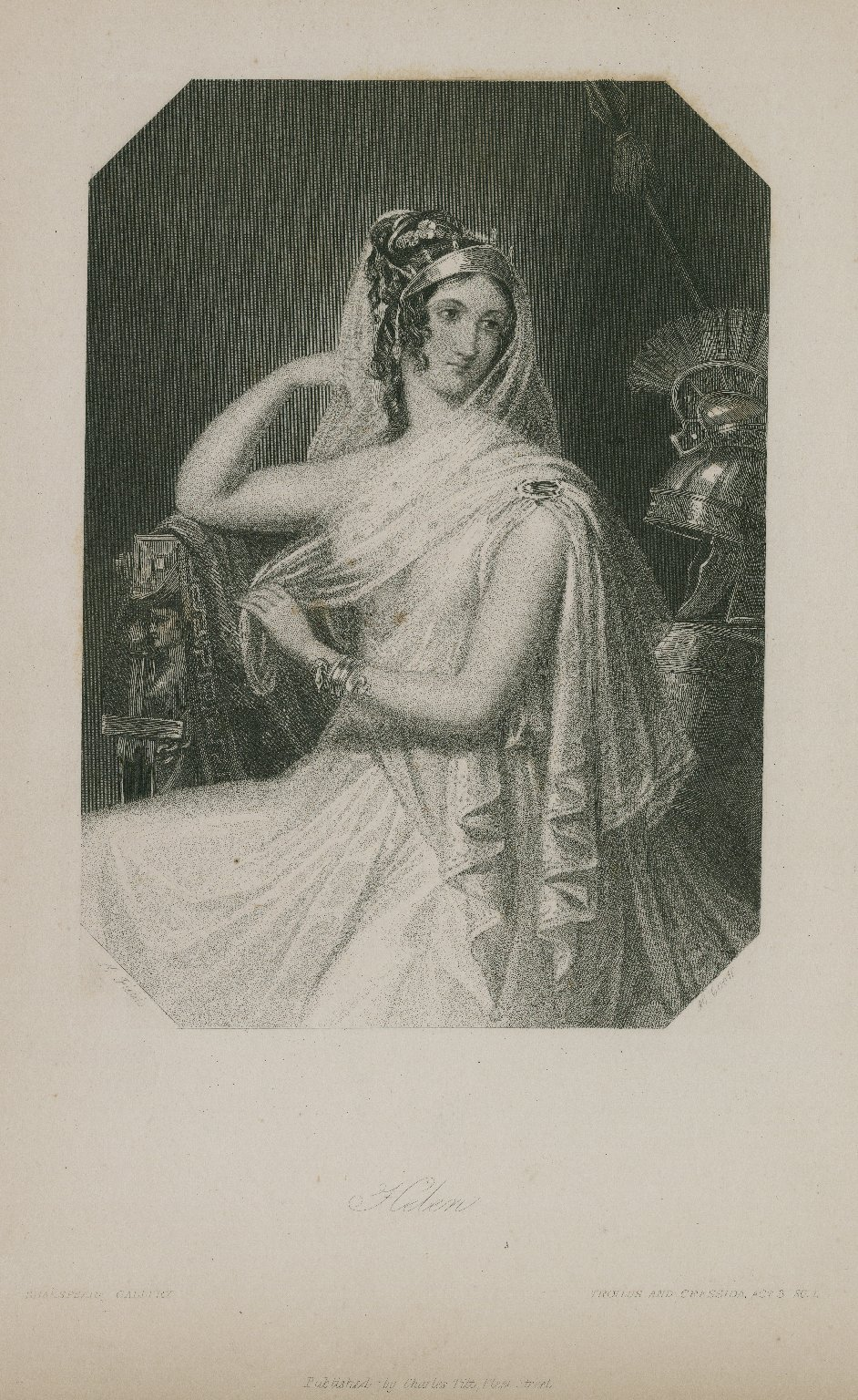Helen, Troilus and Cressida, act 3, sc. 1 [graphic] / K. Fields ; H. Cook.