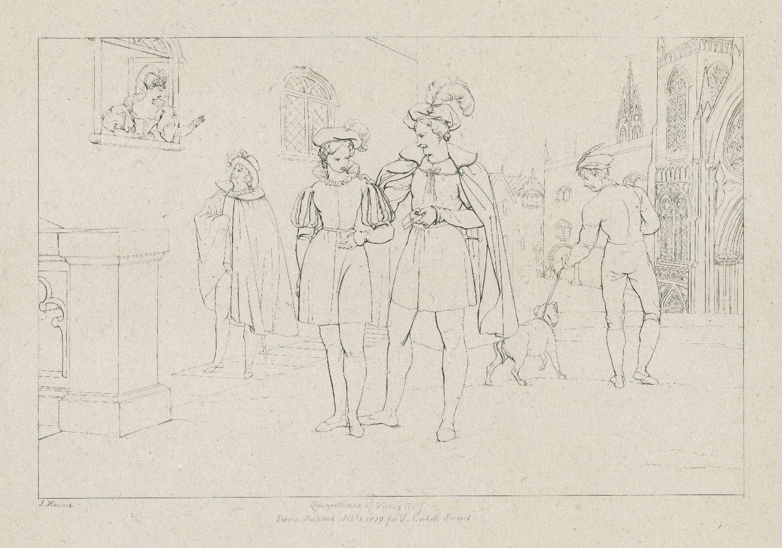 Two gentlemen of Verona [graphic] / F. Howard.