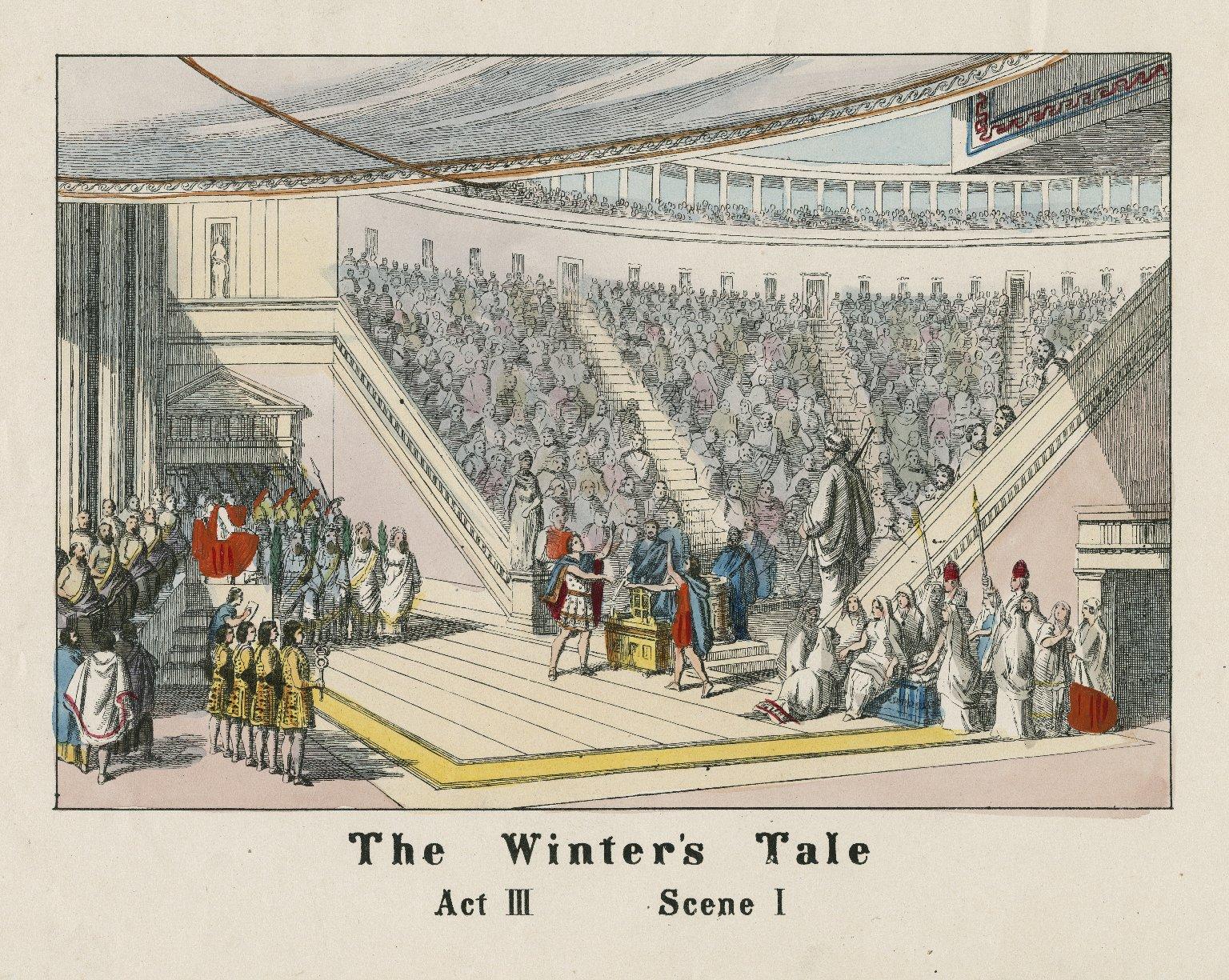 The winter's tale, act III, scene I [i.e. scene II] [graphic].