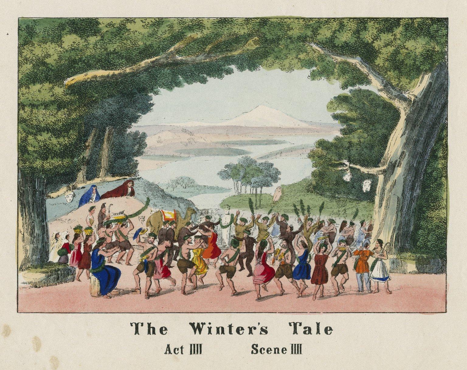 Winter's tale, act IIII, scene IIII [graphic].
