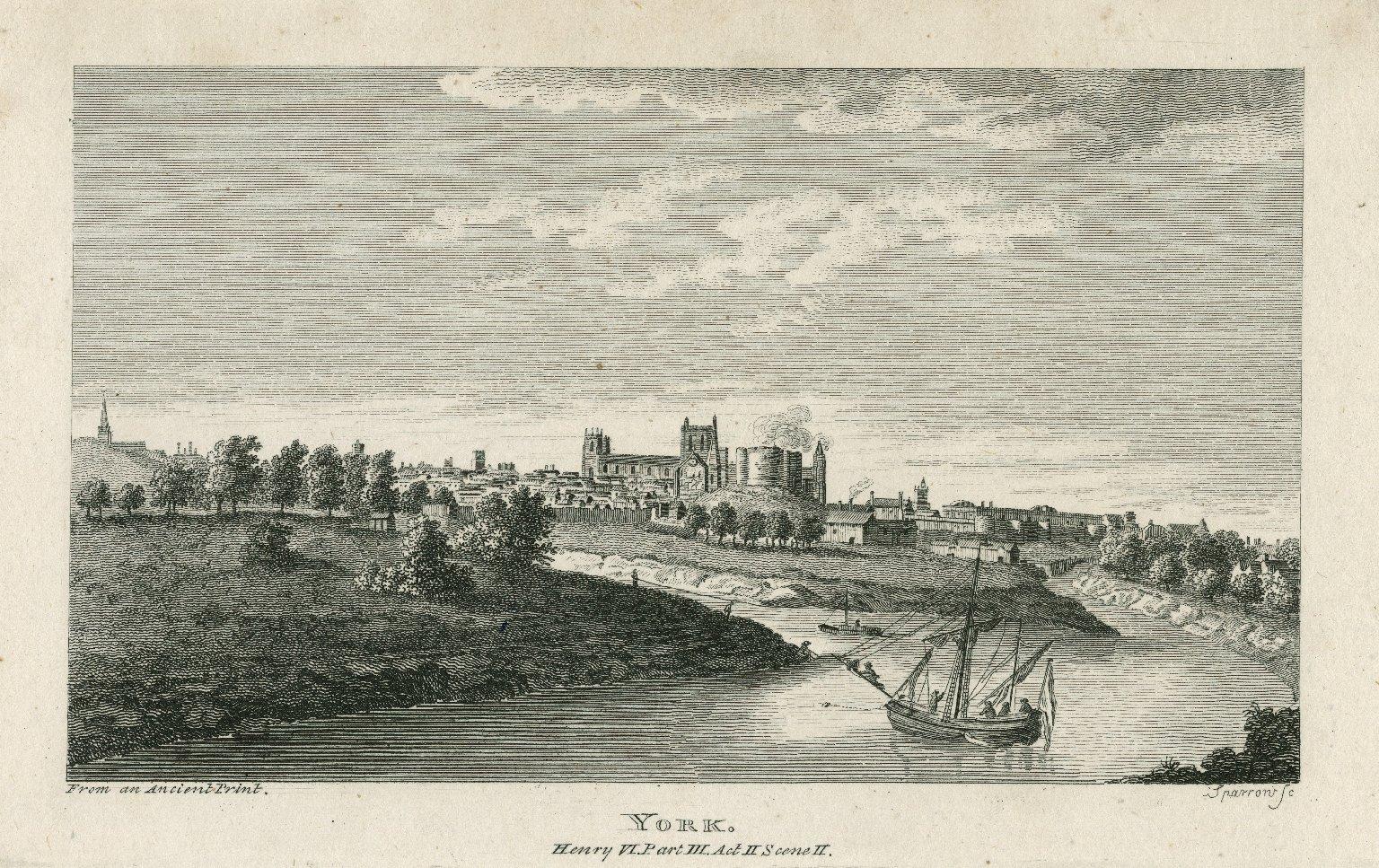 York, Henry VI, part III, act II, scene II [graphic] / Sparrow, sc.