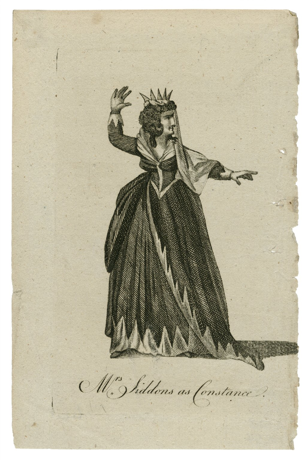 Mrs. Siddons as Constance [in Shakespeare's King John] [graphic].