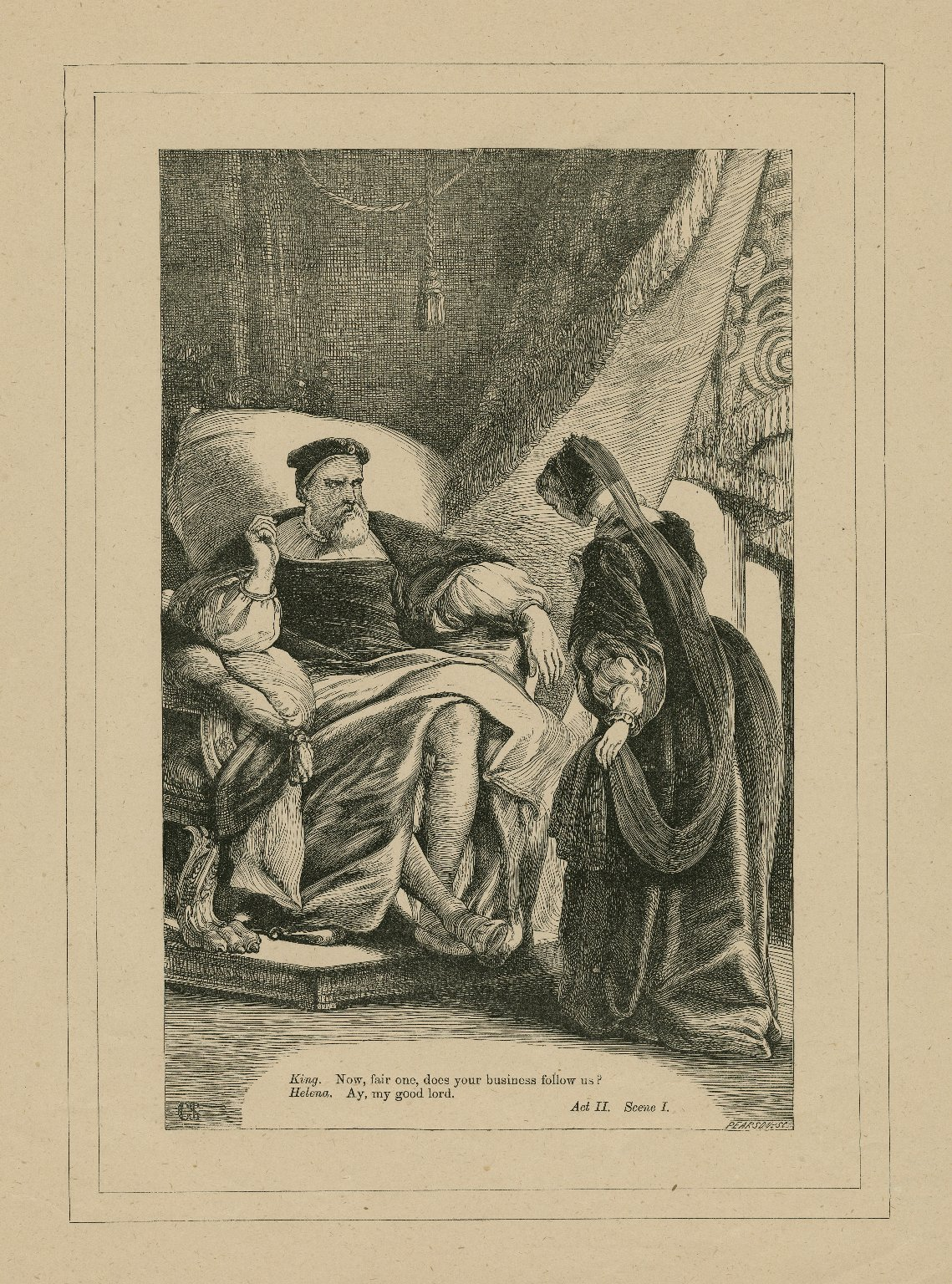 [All's well that ends well, set of engravings illustrating an edition of Shakespeare] [graphic].